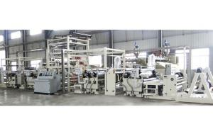 Tubular fabric waterproof Coating production line